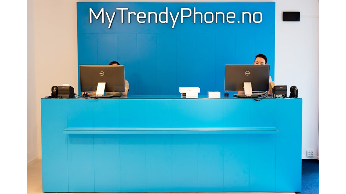 MyTrendyPhone oslo store interior photo shop counter