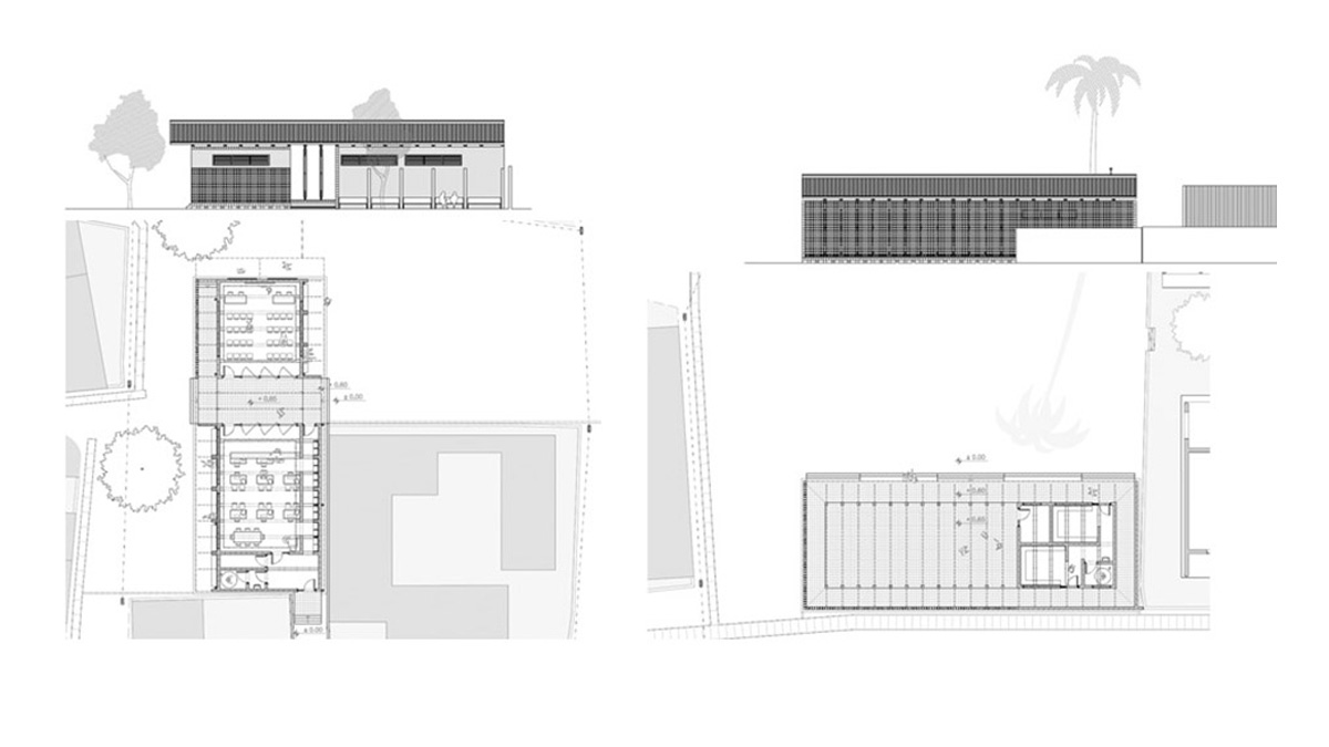 Maxaquene A Maputo facilities project architectural drawing plans and elevations 02