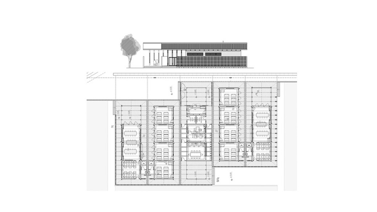Maxaquene A Maputo facilities project architectural drawing plans and elevations 04
