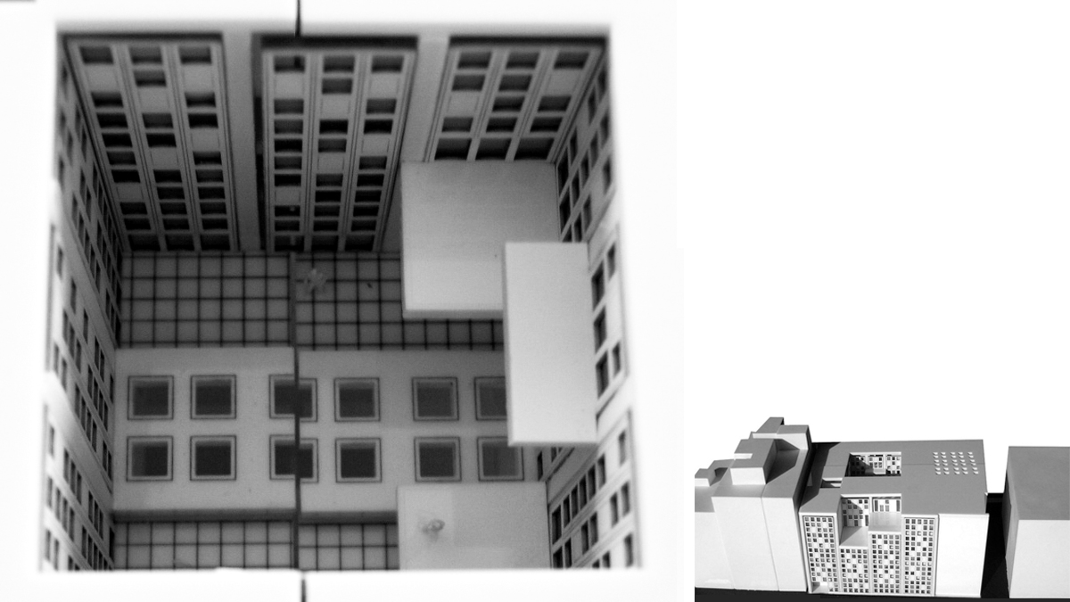 music conservatory barcelona project architectural model photos 02