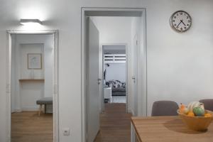 apartment in baba visnjina belgrade interior photo dining room and bedroom