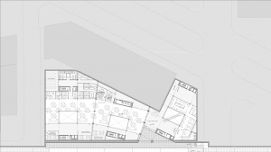 Chamber of commerce Barcelona project architectural drawing metro station floor plan