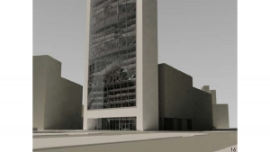Chamber of commerce Barcelona project architectural visualizations 3d renders 06