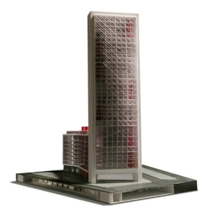 Chamber of commerce Barcelona project architectural model photo