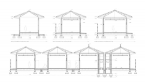 Maxaquene A Maputo facilities project architectural drawing sections