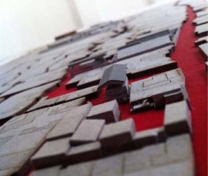 Maxaquene A Maputo project architectural model photo