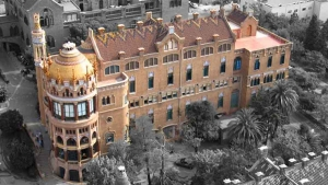 Sant Manel pavilion at Sant Pau Hospital Barcelona photo