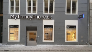 MyTrendyPhone copenhagen store facade signage exterior photo
