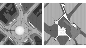 slavija square belgrade competition project architectural drawings floor plans